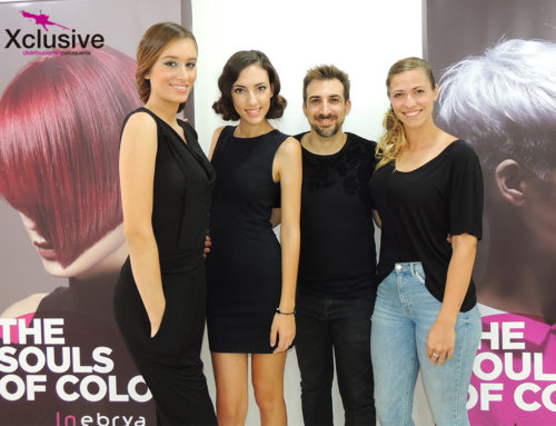 Curso de recogidos Hair Up by Inebrya en Xclusive Murcia